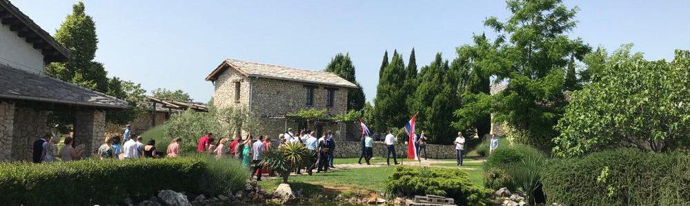 In Bosnien auf einer kroatischen Hochzeit 2019